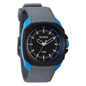 Часы  Ruckus Black / Sapphire /Gray Nixon. Цвет: голубой,черный