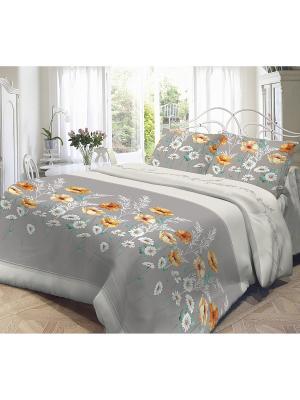 Комплект постельного белья, Марта Волшебная ночь. Цвет: серый
