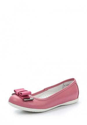 Балетки Totta. Цвет: розовый