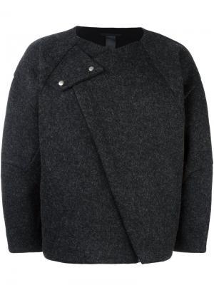 Куртка Odd Odeur. Цвет: серый