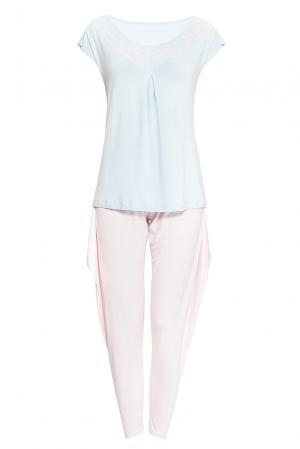 Комплект из вискозы (футболка и брюки) 170134 Blackspade