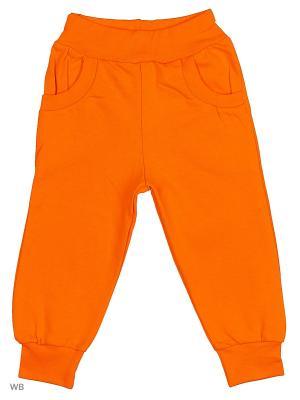 Брюки KIDONLY. Цвет: оранжевый