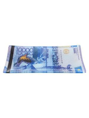 Тарелка 10000 Тенге Elan Gallery. Цвет: синий