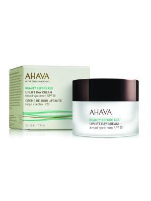 Beauty Before Age Дневной крем для подтяжки кожи лица с широким спектром защиты spf 20, 50 мл AHAVA. Цвет: прозрачный