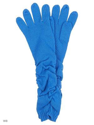 Перчатки Pur. Цвет: индиго