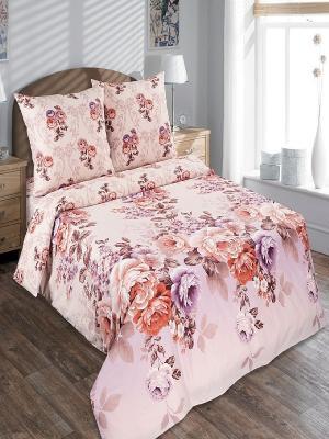 Комплект постельного белья Арт Постель. Цвет: розовый
