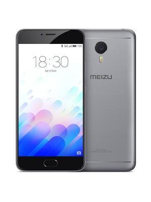 Смартфон M3 Note 16Gb Meizu. Цвет: серый, черный