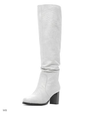 Сапоги La Gatta. Цвет: белый, молочный