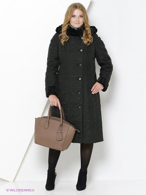 Пальто Brillare. Цвет: черный