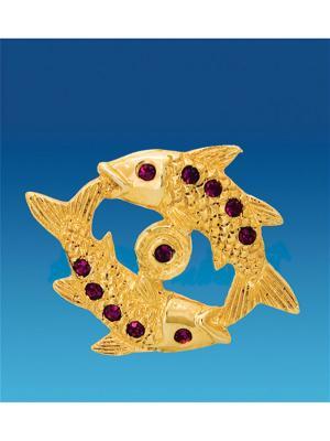 Знак зодиака на магните Рыбы (Юнион) Юнион. Цвет: золотистый