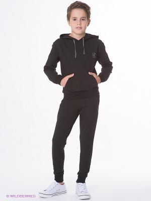 Спортивный костюм Runika. Цвет: черный