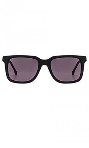 Солнцезащитные очки sterling Steven Alan. Цвет: черный