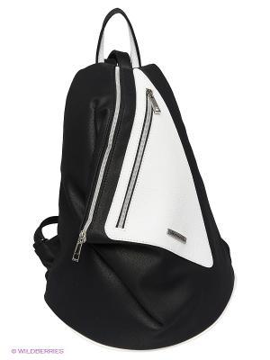 Рюкзак Savio. Цвет: черный, темно-серый, белый