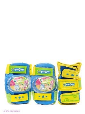 Комплект защиты Фиксики. Цвет: голубой, желтый, салатовый