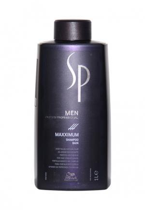 Шампунь против выпадения волос Wella SP. Цвет: синий