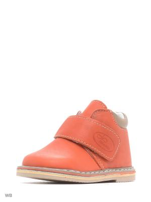 Ботинки ФОМА. Цвет: оранжевый