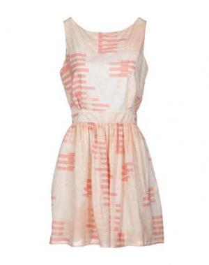 Короткое платье THAKOON ADDITION. Цвет: розовый