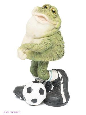 Фигурка Лягушка - футболист Sealmark. Цвет: зеленый, белый, черный