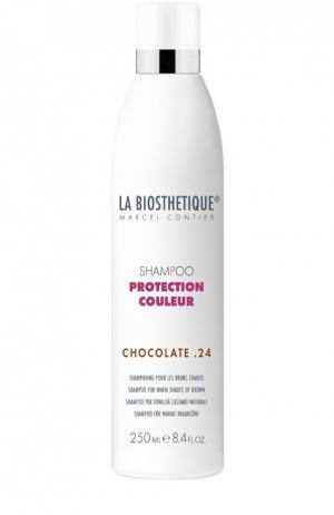 Шампунь для окрашенных волос (тёплые коричневые оттенки) La Biosthetique. Цвет: бесцветный