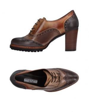 Обувь на шнурках GUGLIELMO ROTTA. Цвет: свинцово-серый