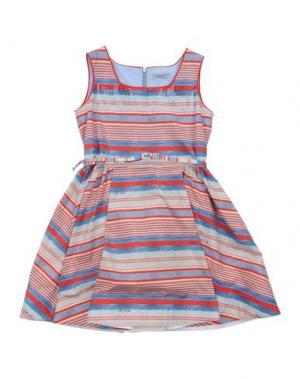 Платье MIMISOL. Цвет: пастельно-синий