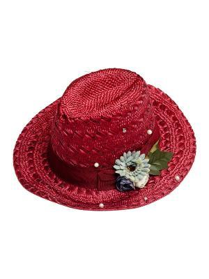 Шляпа Kameo-bis. Цвет: бордовый, голубой, зеленый