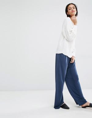 Just Female Широкие брюки Cosmo. Цвет: синий