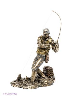 Статуэтка Рыболов Veronese. Цвет: бронзовый