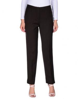 Повседневные брюки ROSE & LINI. Цвет: темно-коричневый