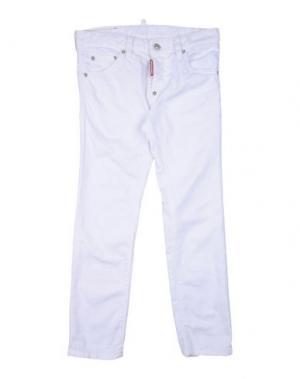 Джинсовые брюки DSQUARED2. Цвет: белый