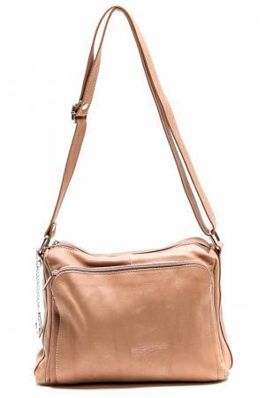 Деловая сумка Isabella Rhea. Цвет: коричневый