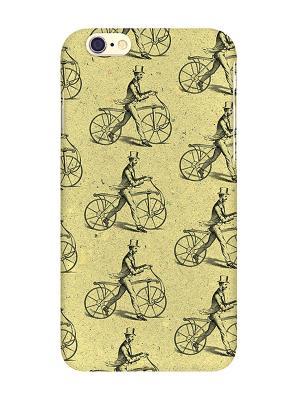 Чехол для IPhone 6 Ретро-велики Mitya Veselkov. Цвет: желтый, черный