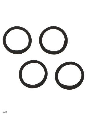 Резинка(4шт) Bizon. Цвет: черный