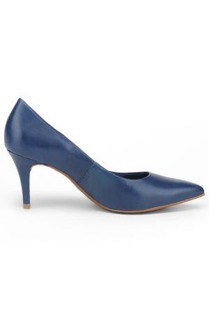 Туфли RIDLSTEP. Цвет: синий