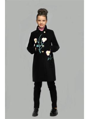 Пальто DESTY. Цвет: черный