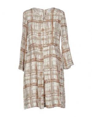 Короткое платье CONTE OF FLORENCE. Цвет: бежевый