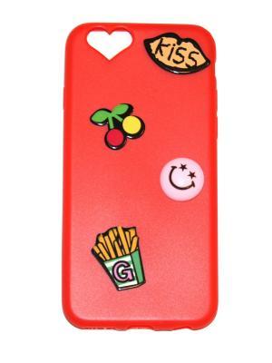 Чехол для телефона iPhone 6/6S Lola. Цвет: красный