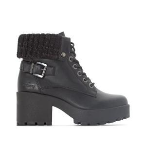 Ботинки на шнуровке Brittany COOLWAY. Цвет: черный