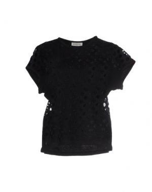 Блузка VERONIQUE LEROY. Цвет: черный