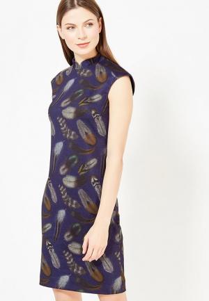 Платье Nevis. Цвет: синий