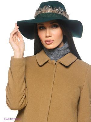 Шляпа Stefanel. Цвет: темно-зеленый