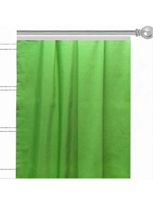 Штора Green Altali. Цвет: зеленый