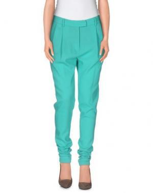 Повседневные брюки MARCO BOLOGNA. Цвет: бирюзовый
