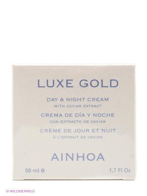 Крем для лица LUXE GOLD AINHOA. Цвет: бежевый