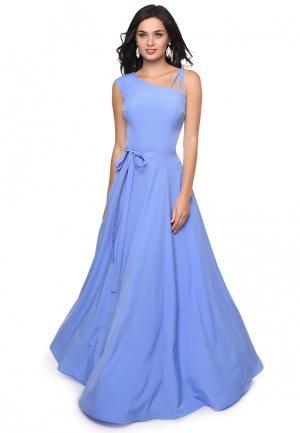 Платье Grey Cat. Цвет: голубой