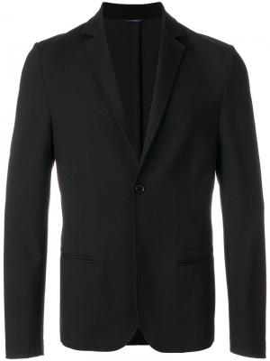 Классический пиджак Daniele Alessandrini. Цвет: чёрный