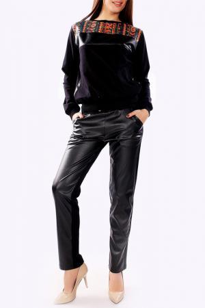 Костюм: джемпер, брюки Majaly. Цвет: черный