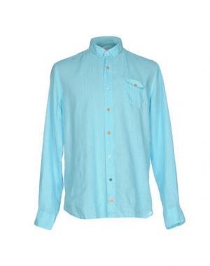 Pубашка PANAMA. Цвет: бирюзовый