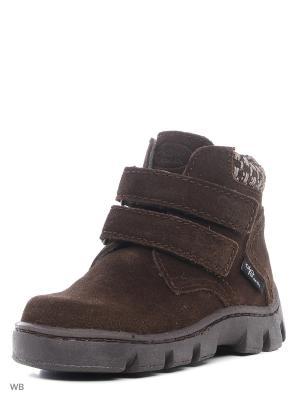 Ботинки ФОМА. Цвет: коричневый