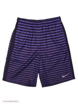 Шорты Y NK DRY SQD SHORT CL WZ Nike. Цвет: фиолетовый